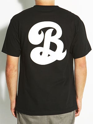 Heel Bruise Big B Pocket Tee Black MD