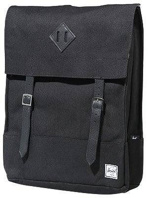 Herschel Survey Backpack Black Canvas