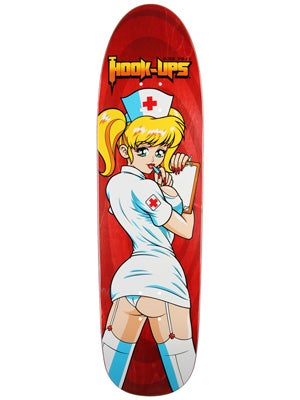 Hook Ups Nurse Angel Deck  9.125 x 32.5