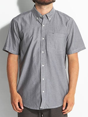 Hurley Ace Oxford S/S Woven Black MD