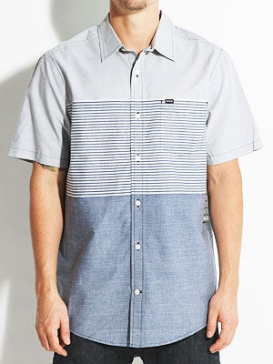Hurley Blockade S/S Woven Shirt Navy MD