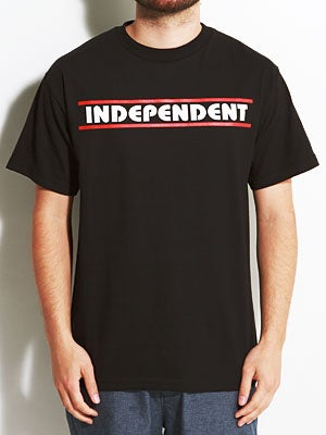 Independent Lines B/C Tee Black MD