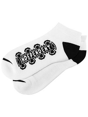 Independent Low Ankle Socks White