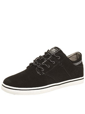 IPath Nomad S Shoes  Black/White Suede