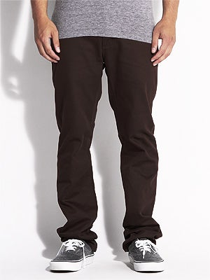 KR3W K Slim Twill Pants Brown 30
