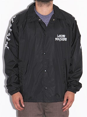 Loser Brigade Coaches Jacket Black MD