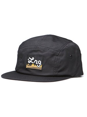 LRG Core Nine 5 Panel Hat Black