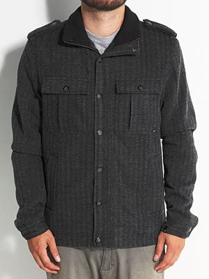 Lost Roads End Jacket Black LG