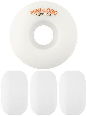 Mini Logo C-Cut White 101a Wheels