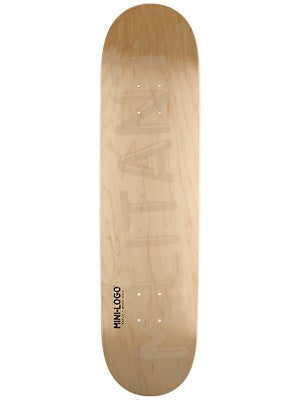 Mini Logo Militant Shape 112 Natural Deck  7.75x31.75