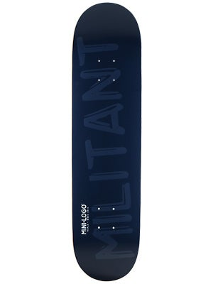 Mini Logo Militant Shape 126 Navy Deck  7.625x31.625
