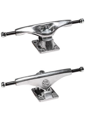 Mini Logo Trucks Silver 8.38