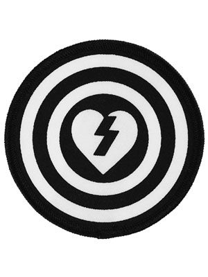target logo black and white. Mystery Target Patch