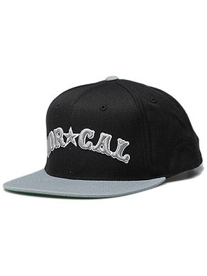 Nor Cal Nautical Starter Hat Black/Grey Adj.