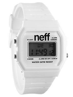 Neff Flava Watch White