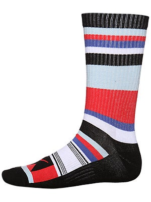 Nike Stripes Skate Socks Pimento/Ice Blue