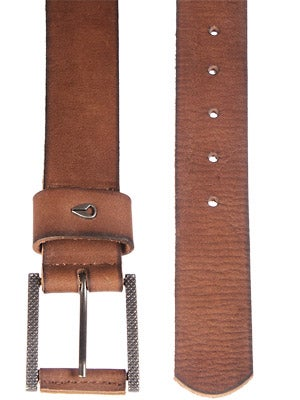 Nixon Americana Leather Belt Brown Small