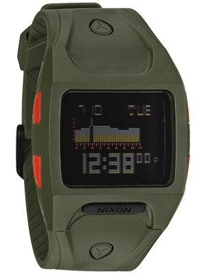 Nixon The Lodown Watch  Surplus/Neon Orange