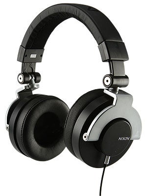 Nixon RPM Headphones Black/Silver
