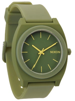 Nixon The Time Teller P Watch  Matte Army