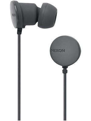 Nixon Wire P Headphones Charcoal