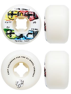 OJ Childress Pro Fourhead 99a Wheels 53mm