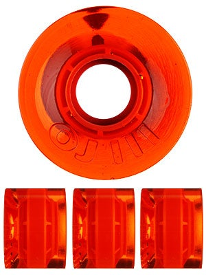 OJ Hot Juice Mini 78a Trans Orange Wheels