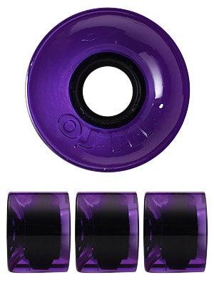 OJ Hot Juice 78a Trans Purple Wheels
