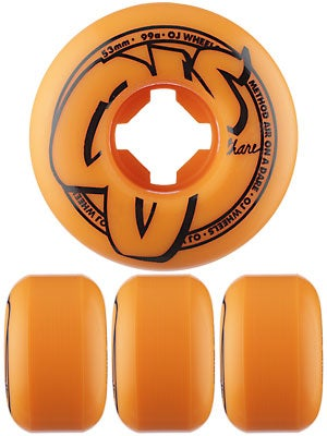 OJ Logo Family Orange 99a Wheels