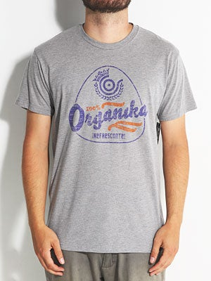 Organika Soda Tee Athletic Heather SM