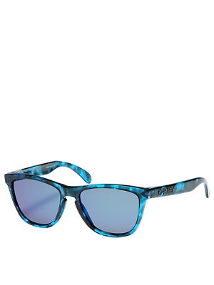Oakley Acid Tortoise Blue Frogskins Sunglasses