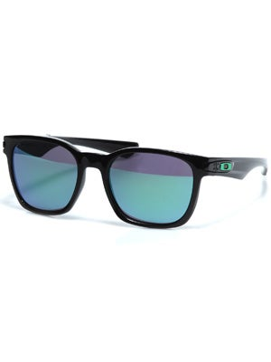 Oakley Garage Rock Sunglasses  Pol. Black/Jade Iridium
