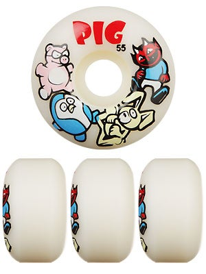 Pig Speedline Animal Friends Wheels 55mm