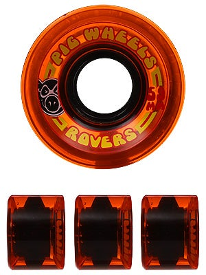 Pig Rover Cruiser Wheels Orange 59mm