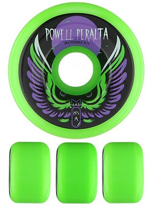 Powell Bombers 85a Wheels Green 60mm