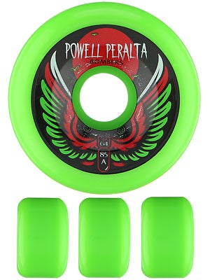 Powell Bombers 85a Wheels Green 64mm