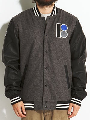 Plan B Prep Jacket Black LG