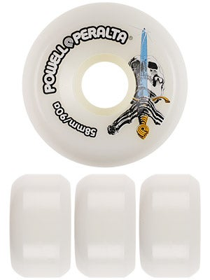 Powell Skull & Sword 90a Wheels 58mm