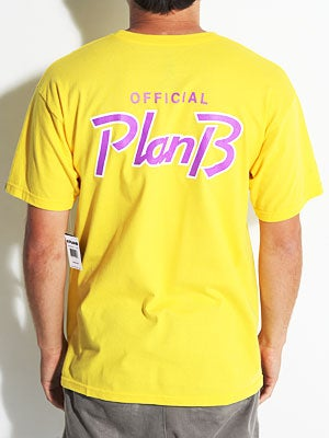 Plan B Takeout Tee Yellow MD