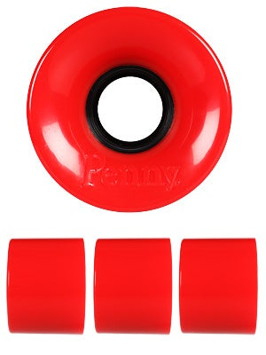 Penny Supersmooth 78A Red Wheels