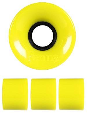 Penny Supersmooth 78A Yellow Wheels
