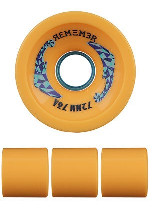Remember Farley 78a Orange Grip Wheels 72mm