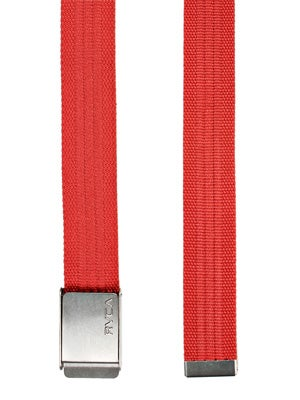 RVCA Bray Belt Red Adj.