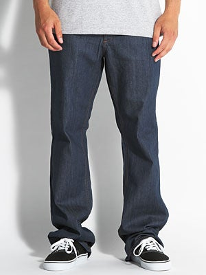 RVCA Chev Extra Stretch Denim Classic Blue 28