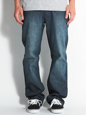 RVCA Chev Extra Stretch Denim Rough Blue 28