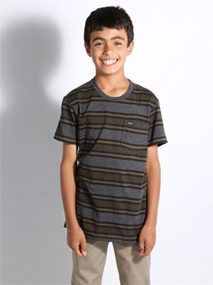 RVCA Kids Dudley Shirt Military SM