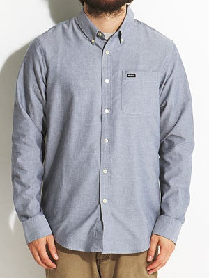 RVCA That'll Do L/S Woven Shirt Distant Blue SM