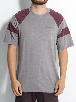 RVCA Bettis Shirt Heather Grey SM