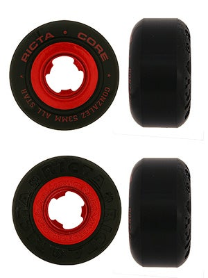 Gonzalez All Star Black Wheels 53mm