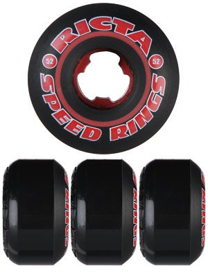 Ricta Speedring Colored Black Wheels 52mm